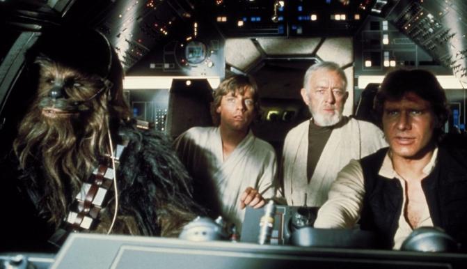 Star Wars - Falcon crew
